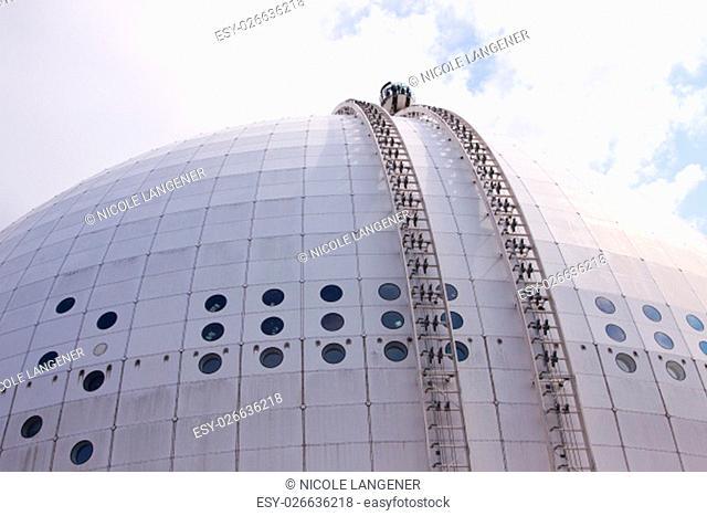 ericsson globe stockholm skyview