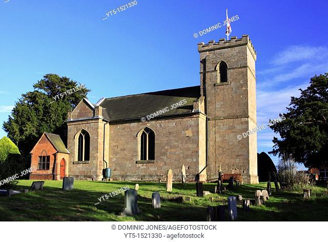 St  Michael's Parish Church, Rushock, Worcestershire, England, Europe