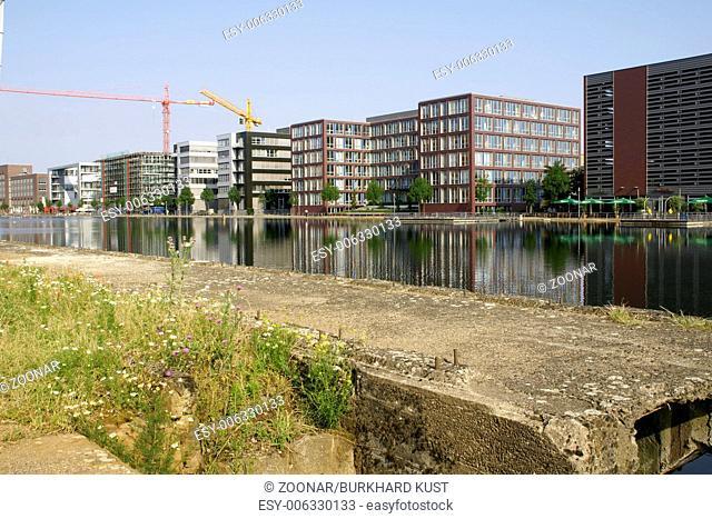 Inner harbor Duisburg, Germany