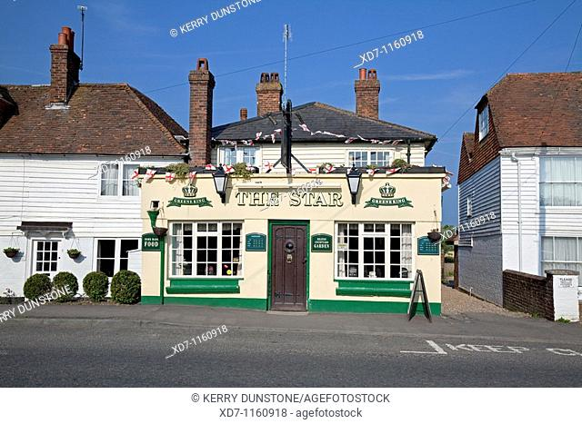 England Kent Rolvenden 'The Star Inn' Public House