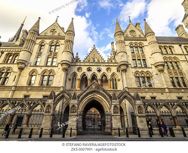 Royal Court of Justice - London, England
