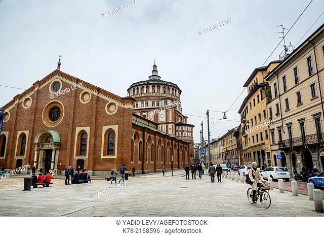 Santa Maria Delle Grazie church, Milan, Italy