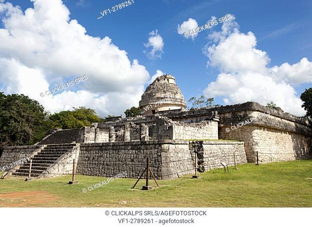 El Caracol observatory temple, Chichen Itza archeological site, Yucatan, Mexico