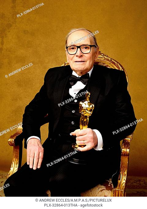Music (Original Score) winner Ennio Morricone, The Hateful Eight at The 88th Oscars® in Hollywood, CA on Sunday, February 28, 2016