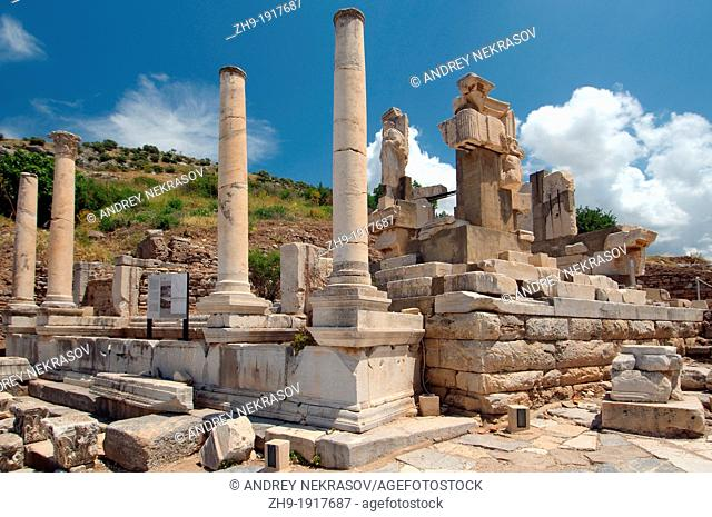 Antique city of Ephesus, Efes, Turkey, Western Asia
