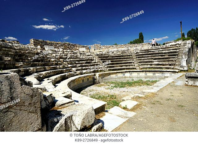 Aphrodisias Odeion. Ancient Greece. Asia Minor. Turkey