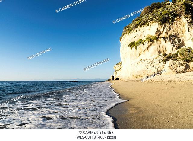 Italy, Calabria, Tropea, Tyrrhenian Sea