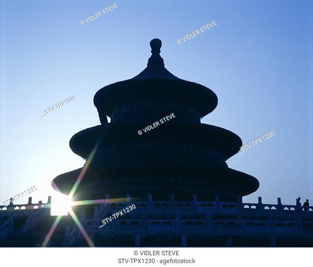 Asia, Beijing, Peking, China, Dawn, Dynasty, Heritage, Holiday, Landmark, Ming, Temple of heaven, Tourism, Travel, Unesco, Vacat