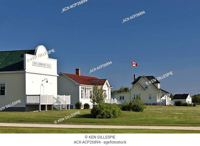 Historic Icelandic settlement of Hecla Village, Hecla Island Provincial Park, Manitoba, Canada