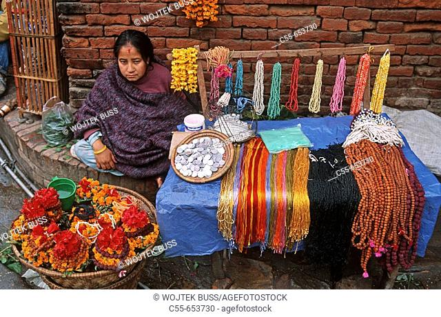 Nepal, Pashupatinath, Market