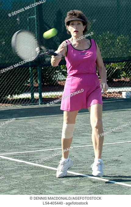Sun City Florida active retired senior citizens pursue sports and other retirement activities in a planned community