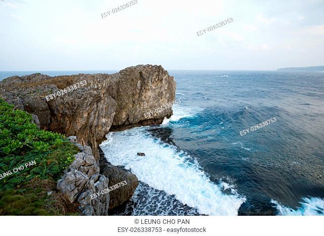 Hedo Cape in Okinawa