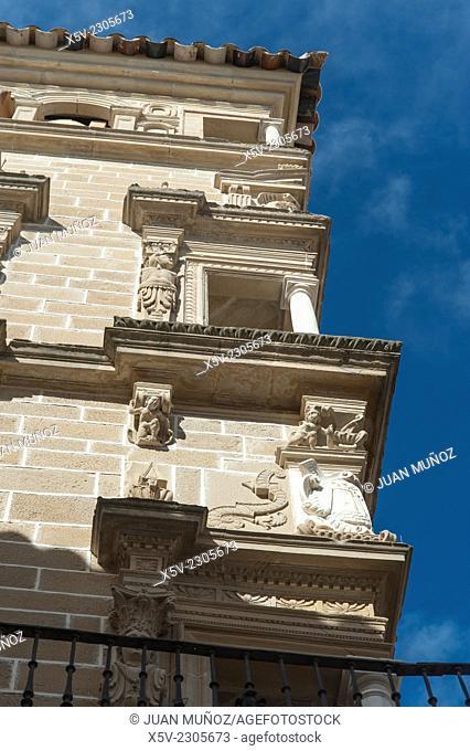Mansion. Ubeda. Jaen. Andalucia. Spain