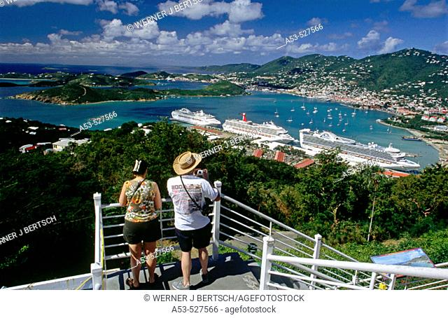 Charlotte Amalie. St. Thomas Island. U.S. Virgin Islands. West Indies