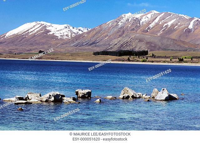 Tekapo Lake. South Island. New Zealand