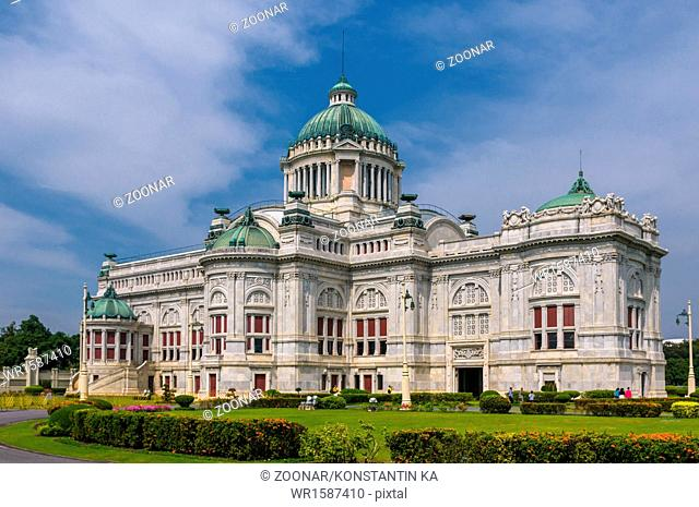 The Ananta Samakhom Throne Hall in Thai Royal Dusit Palace, Bangkok, Thailand