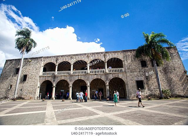 Diego Colon's Palace, Santo Domingo, Dominican Republic