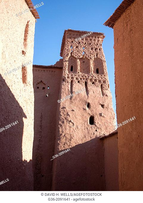 Ancient structurein Ait Ben Hadou, Morrocco