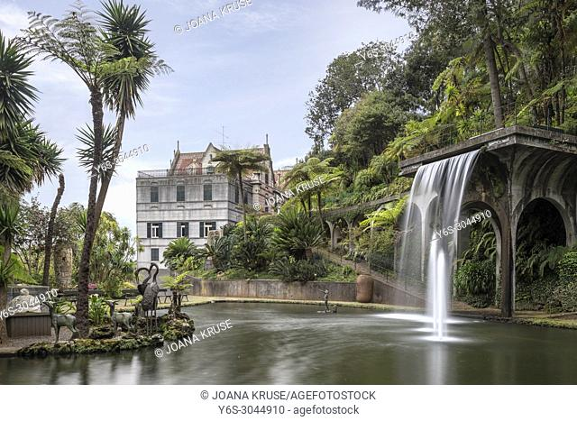 Monte Palace Tropical Garden, Funchal, Madeira, Portugal, Europe