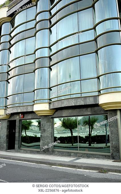 Apartment building in San Sebastian, Basque Country, Spain