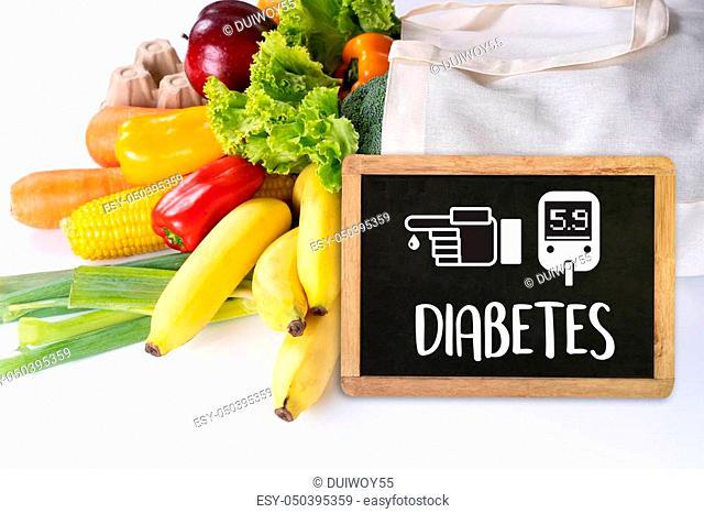 a diabetes test, health Medical Concept, Obesity, blood test