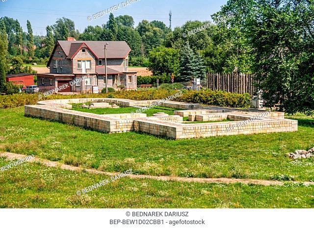Archeological Reserve Zawodzie, Kalisz, Greater Poland Voivodeship, Poland
