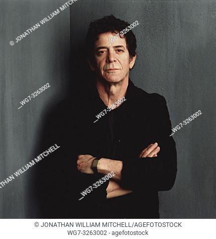 UK -- 28 Oct 2013 -- File photo circa 2003 of the Lou Reed 1942-2013. The famous singer and guitarist died on the 27 October 2013 of complications after a liver...