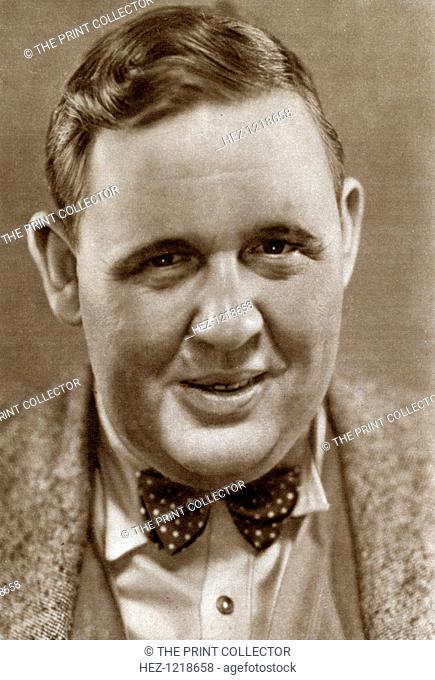 Charles Laughton, English stage and film actor, 1933. Laughton (1899-1962) became an American citizen in 1950. While best known for his historical roles in...