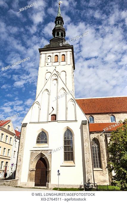 Niguliste Church, Saint Nicholas Church, Old Town, Tallinn, Estonia