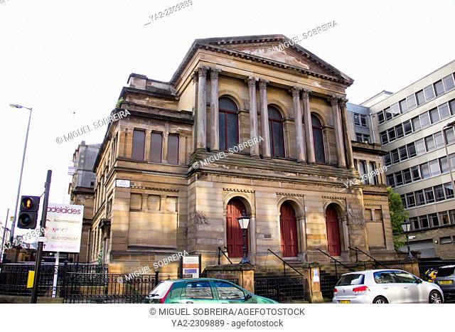 Adelaide Place Baptist Church on Pitt Street in Glasgow - Scotland