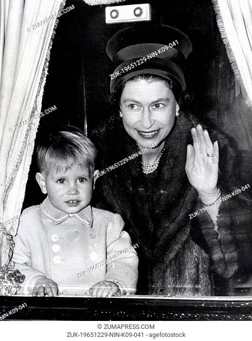 Dec. 29, 1965 - London, England, U.K. - The elder daughter of King George VI and Queen Elizabeth, ELIZABETH WINDSOR (named Elizabeth II) became Queen at the age...