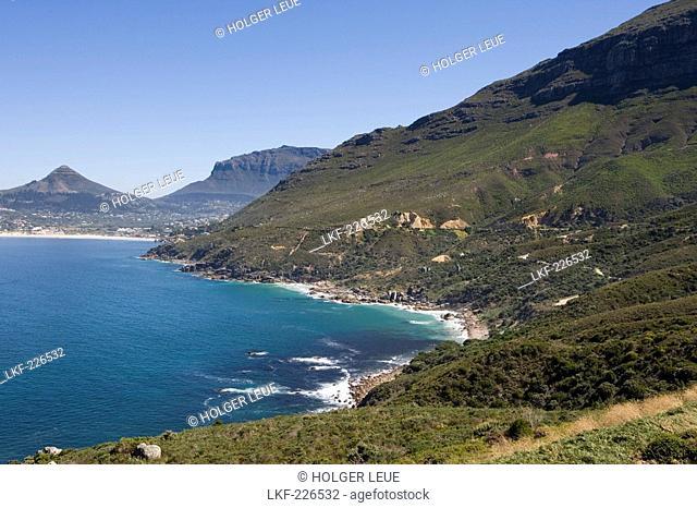 Coastline near Cape Town, Cape Peninsula, Western Cape, South Africa, Africa