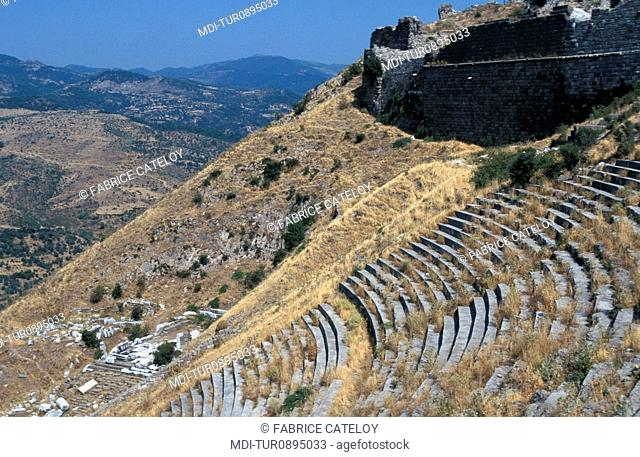 Archeological site - One of the oldest and most important Greek cities of Asia Minor - The theater