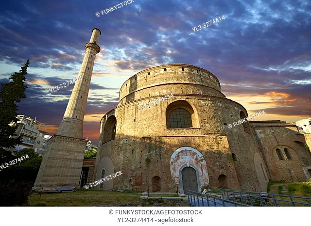 4th century Roman rotunda Church of Agios Georgios or the Rotunda of St. George built in 311 as the mauselum of Galerius but never used