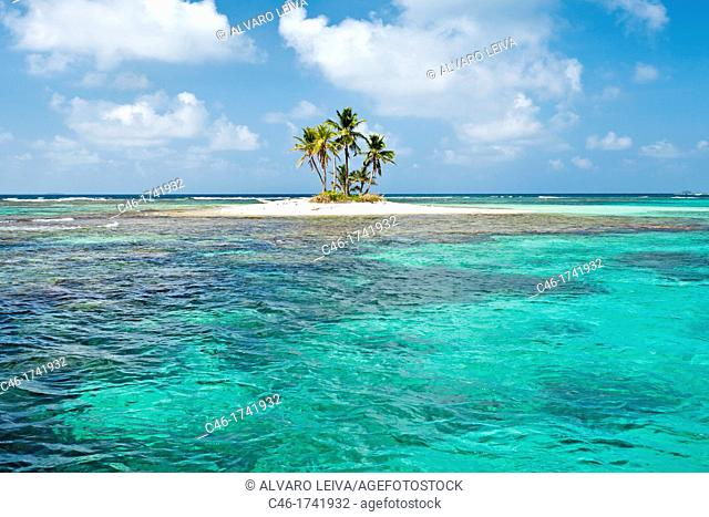 Grullos keys, San Blas Islands also called Kuna Yala Islands, Panama