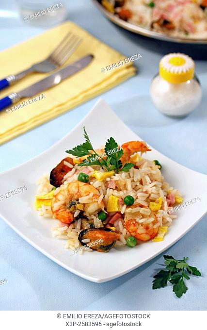 Four delights rice
