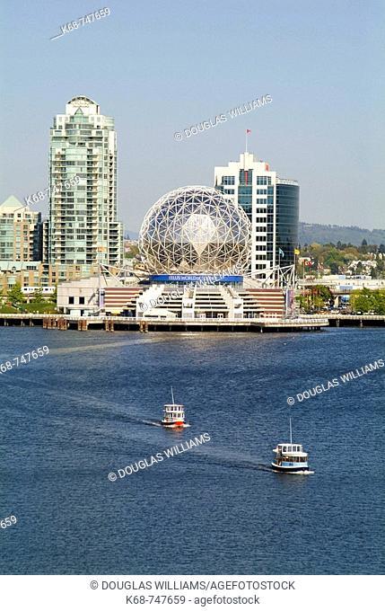 False Creek, Telus World of Science, Vancouver, BC, Canada