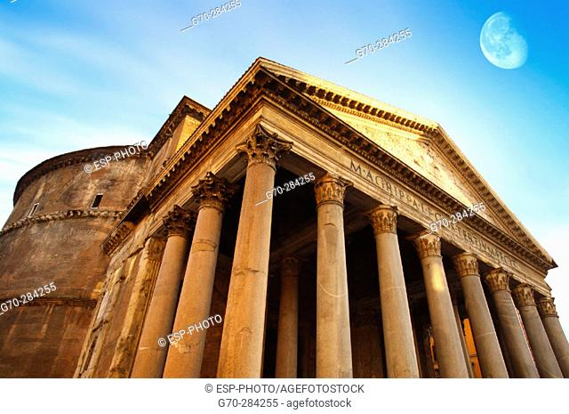 The Pantheon. Rome. Italy