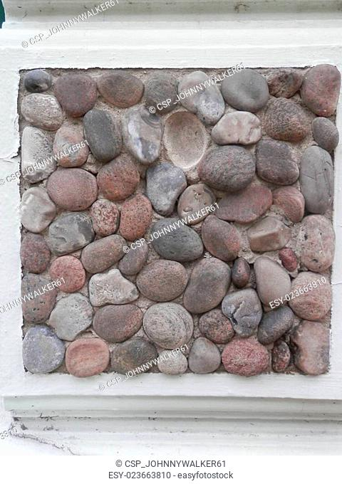 Stoned Pebbled wall