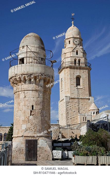 The Abbey of the Dormition Falling Asleep of the Virgin is a German Benedictine abbey and church, that was built over the traditional site of the Virgin's home...