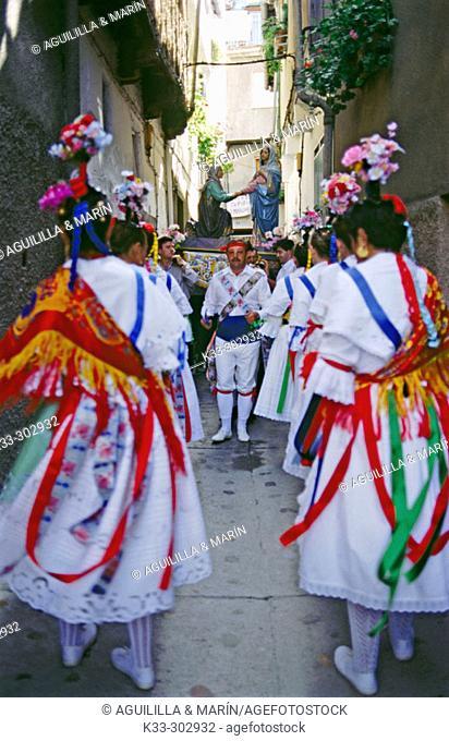'Danza de la Italianas'. Garganta la Olla. Caceres province. Extremadura. Spain