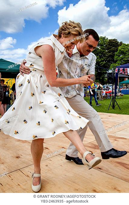 P J's Dance Club Perform At The Annual Nutley Village Fete, Nutley, Sussex, UK