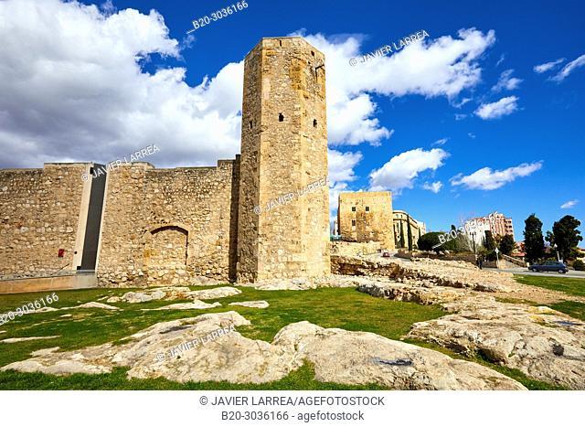 Tower of the Monges, Praetorium and Roman Circus, History Museum of Tarragona (MHT), Tarragona City, Catalonia, Spain, Europe