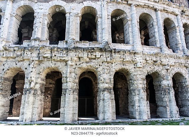 Teatro di Marcello (Theatre of Marcellus), Rome, Italy