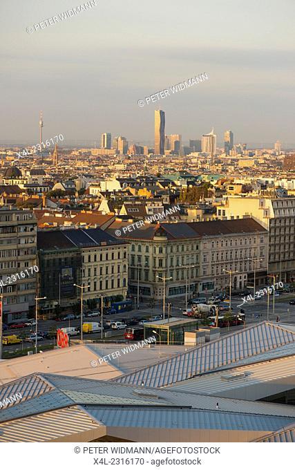 Hauptbahnhof Wien (Wiener Team, Holz/Hoffmann, Wimmer), main railway station Vienna, Austria, Vienna