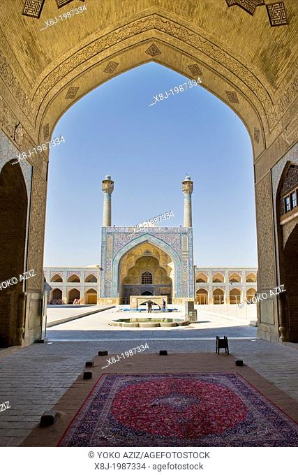 Iran, Isfahan, old friday mosque