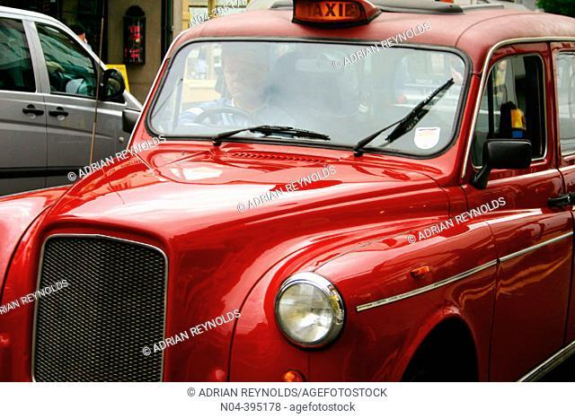 Taxi. London. England