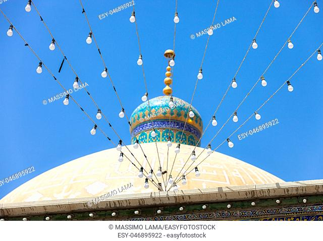 Mosquee in Qom the sacre city in IRan