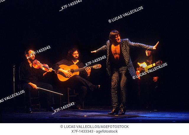 Rafael Amargo  Flamenco dancer  La Maestranza theatre  Seville, Andalusia, Spain