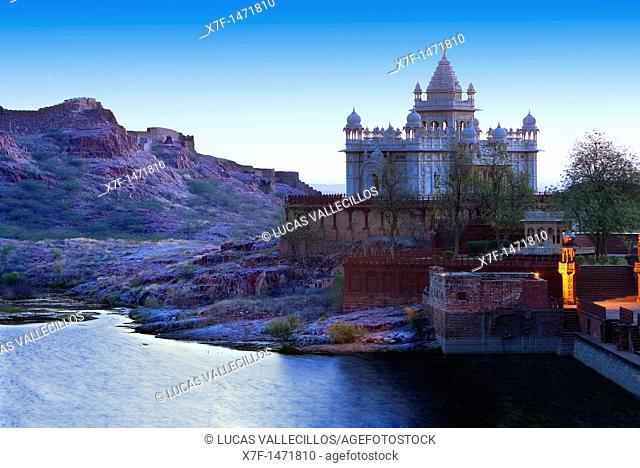 Jaswant Thada, 1899, Memorial to Maharaja Jaswant Singh II,Jodhpur, Rajasthan, India